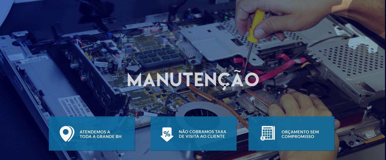 Banner de Infraestrutura e Manutenção